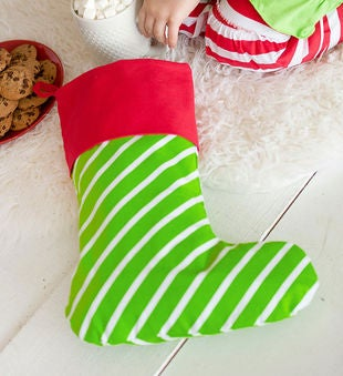 Personalized Bright Stocking