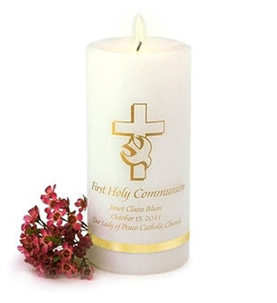 Personalized Communion Candle