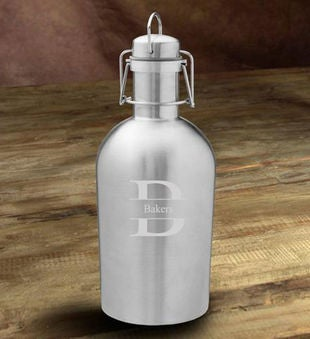Personalized Insulated Steel Beer Growler