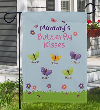 Butterfly Kisses Garden Flag