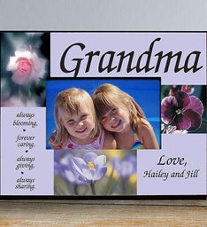 Always Blooming Personalized Picture Frame