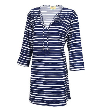 Personalized  Striped Womens' Tunic