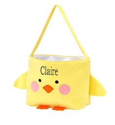 Personalized Chick Easter Bucket