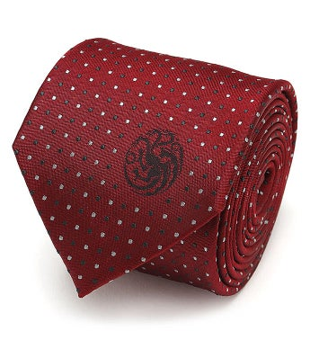 Targaryen Dragon Sigil Men's Tie