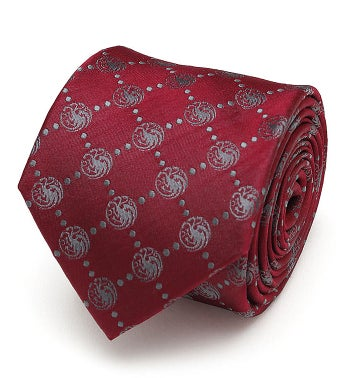 Targaryen Dragon Scattered Men's Tie