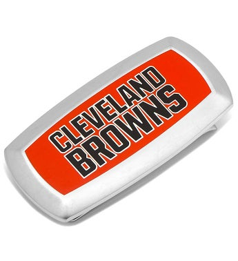 Cleveland Browns Cushion Money Clip