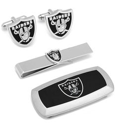 Oakland Raiders 3-Piece Cushion Gift Set