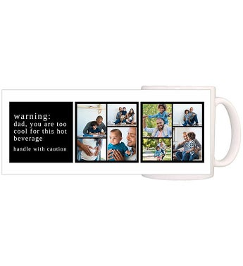 Personalized Too Cool Warning Magic Mug