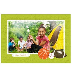 Personalized Sports 252 Piece Photo Puzzle