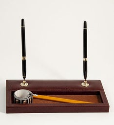 Personalized Double Pen Stand