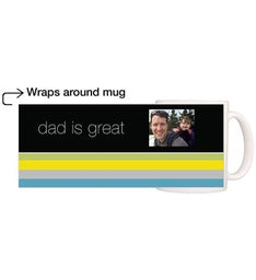 Personalized Dad Lines Magic Mug