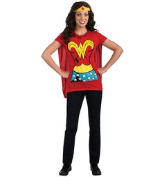 Wonder Woman T-Shirt Adult Costume