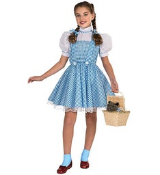 Wizard of Oz Dorothy-Deluxe Child Costume