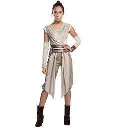 Star Wars The Force Awakens - Rey Deluxe Costume