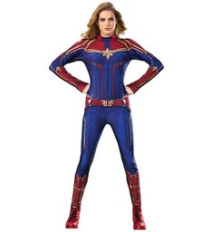 Captain Marvel Hero Suit Adult Costume