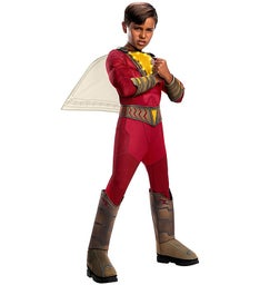 Shazam Deluxe With Lights Child Costume