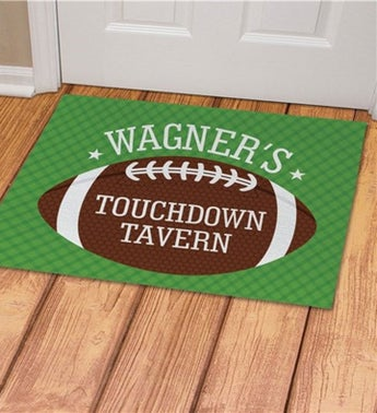 Personalized Touchdown Tavern Doormat