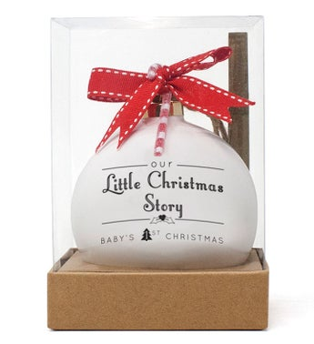 Our Christmas Story Personalized Ornament
