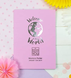 Personalized The Book About You Welcome to the World