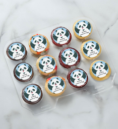 12-24 Mini Sweet Panda Air Hugs Cupcakes