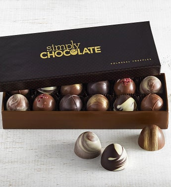 Simply Chocolate Colossal Truffles  12pc