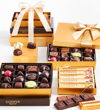 Grande Godiva Excellence Chocolates Tower