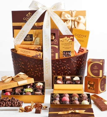 Exclusive Godiva Divine Chocolates Basket -Supreme